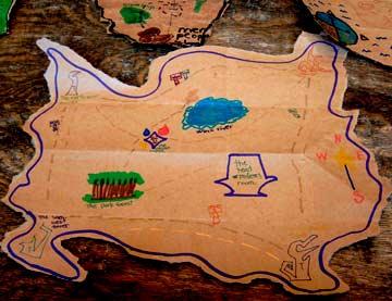 Mermaid Treasure Maps